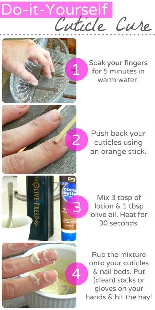 Better home manicure nail art diy tips and hacks better home manicure nail art diy tips and hacks cure your cuticle before any nail solutioingenieria Images