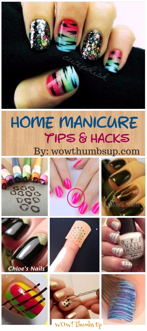 Better Home Manicure Nail Art DIY Tips and Hacks