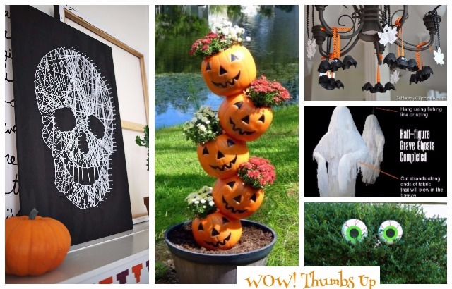 Easy DIY Halloween Decorating Ideas & Projects