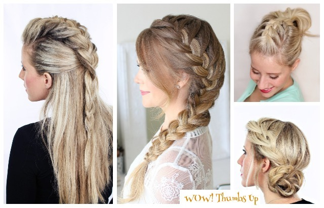 DIY Stunning French Braid Hairstyles with Step by step Tutorials