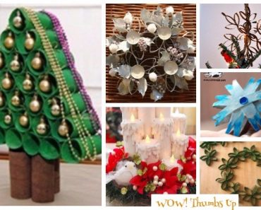 20 DIY Toilet Paper Roll Christmas Craft Project Tutorials