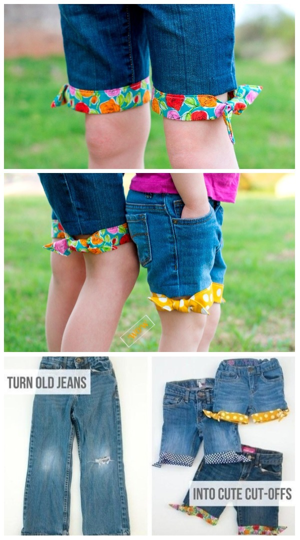 Fashion Hack: Ways to Turn Worn Jeans into Jean Shorts- DIY Summer Style Cut Off Jean Shorts Tutorial