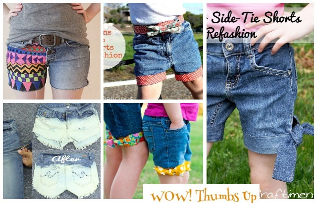 Fashion Hack Ways to Turn Worn Jeans into Jean Shorts Jean Refashion Ideas and DIY Tutorials
