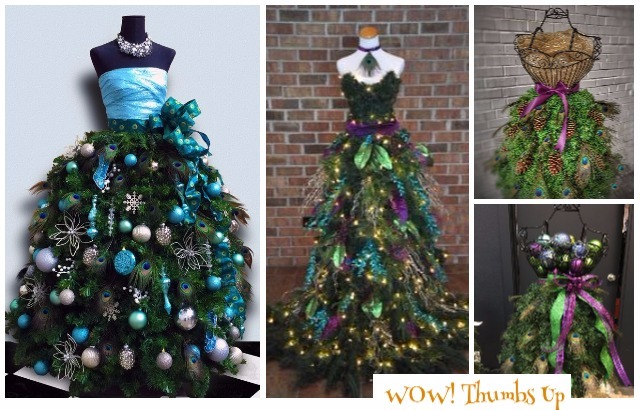 Christmas Tree Mannequin Dress.Diy Mannequin Christmas Tree Tutorial Ideas Video