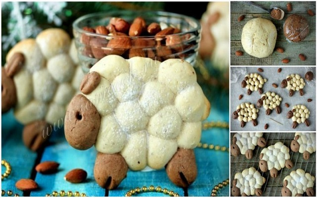 DIY Lamb Shaped Cookie Recipe &Tutorial
