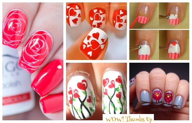 Fabulous Valentine Nail Art DIY Ideas To Make You Thumbs Up