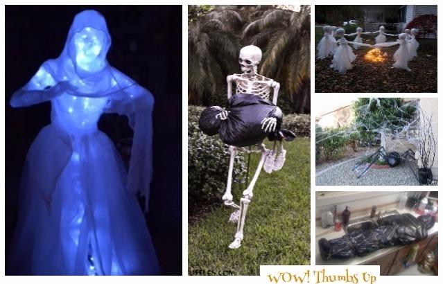 DIY Trash Bag Halloween Decoration Ideas &Tutorials